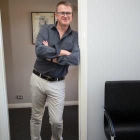 Geelong podiatrist Leo Veanes